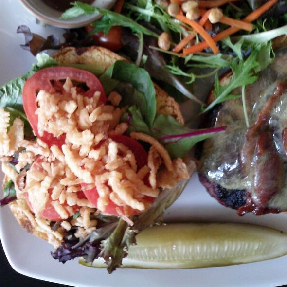 BBQ Bison Burger - Harvest Seasonal Grill & Wine Bar - University City, Philadelphia, PA