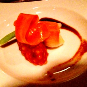 Bacon Couscous - White Barn Inn, Kennebunk, ME