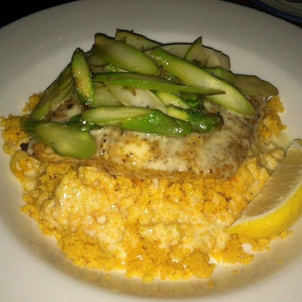 Pistachio Encrusted Halibut - McLoone's Pier House - National Harbor, National Harbor, MD