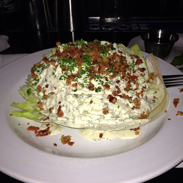 Iceberg Wedge With Bacon  - Geogeske, El Paso, TX