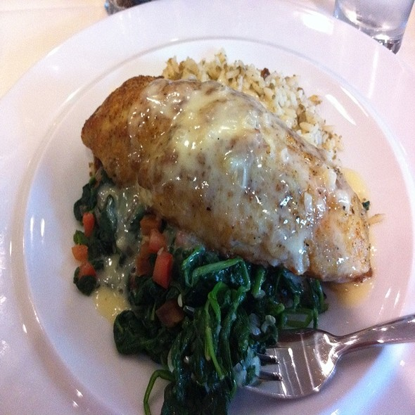 Crab Crusted Catfish - Parrot Cage - Washburne Culinary Institute, Chicago, IL