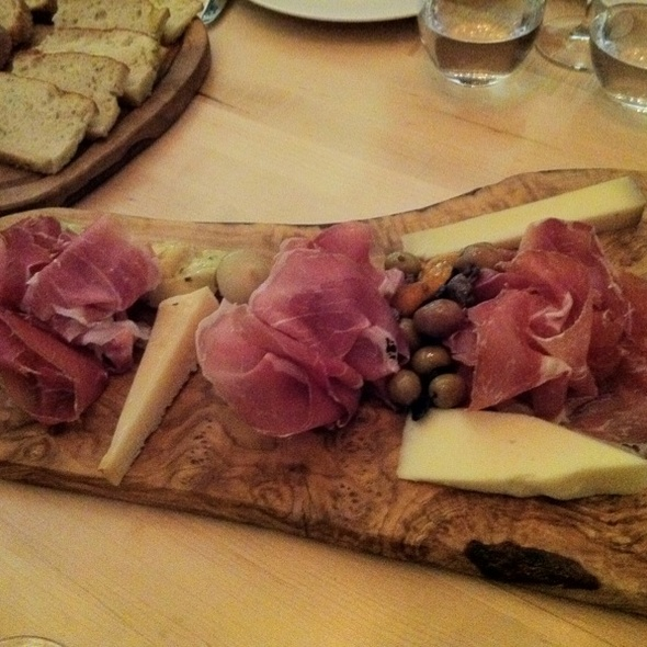 prosciutto and cheese platter - Autostrada, Vaughan, ON