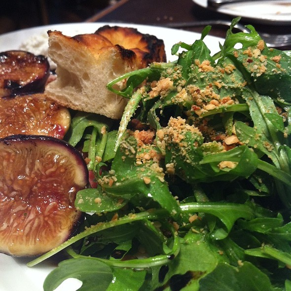 Arugula Salad With Figs And Ricotta  - SOUTHGATE Bar & Restaurant, New York, NY