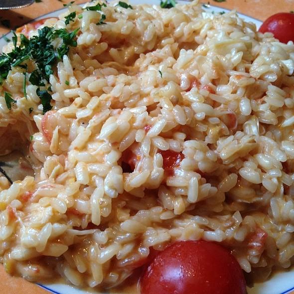 Crab risotto - Mediterraneo, New York, NY