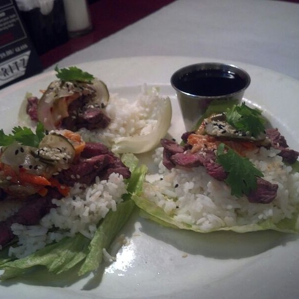 Korean Bulgogi Beef Lettuce Wraps - Ritz Grill, Colorado Springs, CO