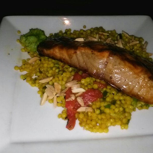 Ten Spice Glazed Salmon - Village Tavern Pembroke Pines, Pembroke Pines, FL