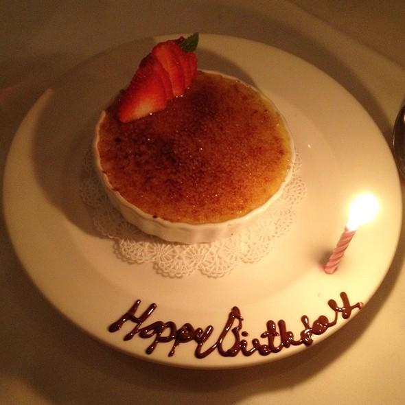 Tahitian Vanilla Creme Brulee - The Ballard Inn, Ballard, CA
