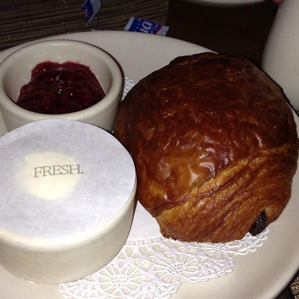 Pain au Chocolat - Print Restaurant, New York, NY