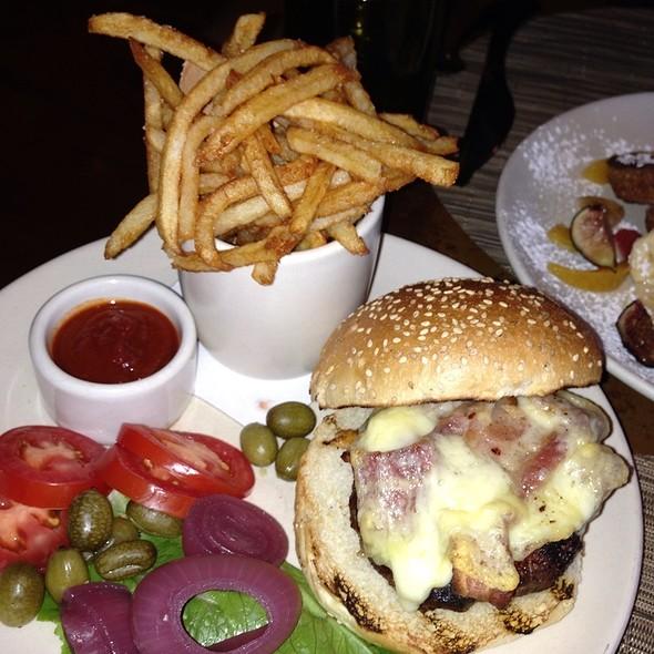 Grilled Grass Fed Burger - Print Restaurant, New York, NY