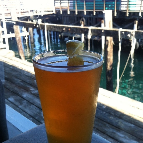 Monterey Wheat Beer - Domenico's on the Wharf, Monterey, CA