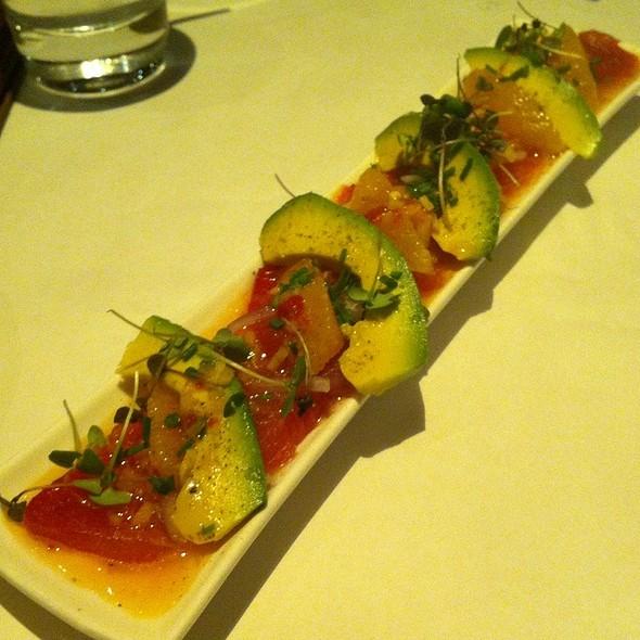 Ahi Tuna Ceviche - Villa Creek Restaurant, Paso Robles, CA