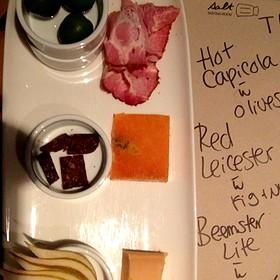 3 Cheese & 3 Meat Platter - Salt Tasting Room, Vancouver, BC