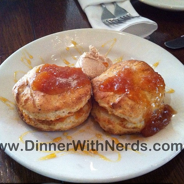 Sweet Potato Biscuits - Tin Angel, Nashville, TN
