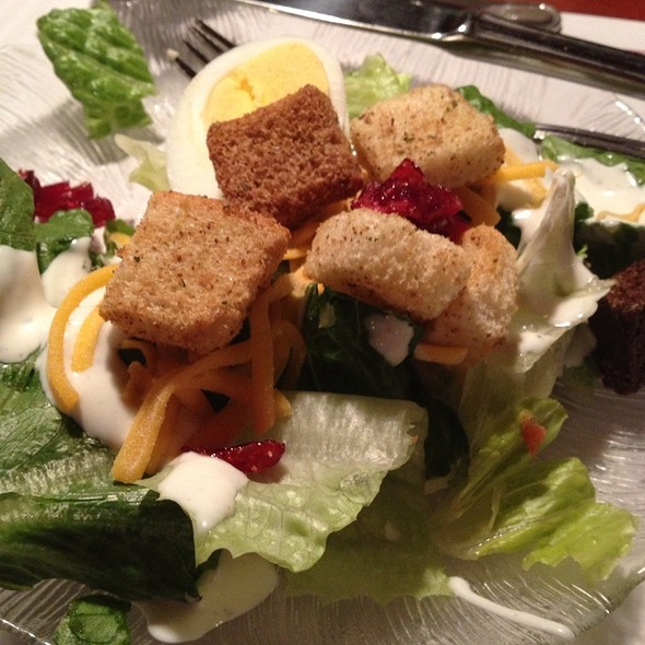 My Salad Bar Salad - Weber's Restaurant, Ann Arbor, MI