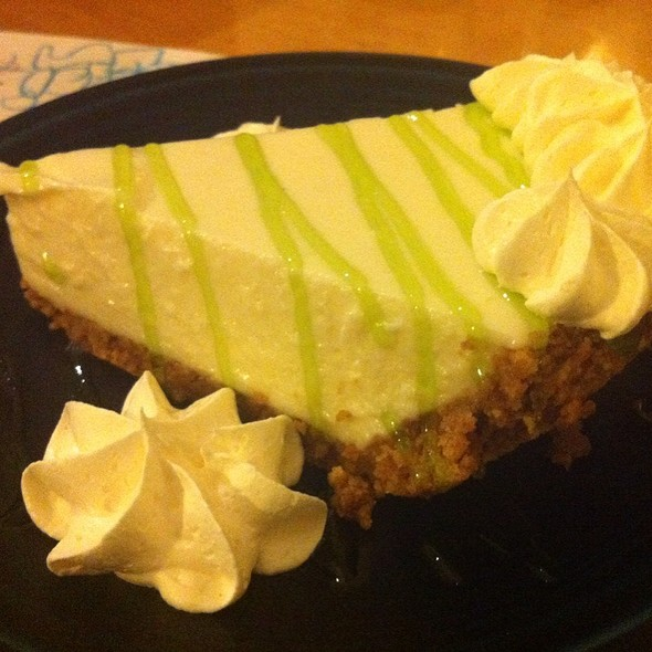 Key Lime Pie - Catches Waterfront Grille, Port Richey, FL
