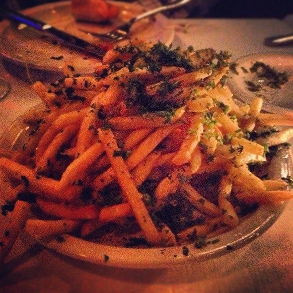 Garlic French Fries - Carlitos Gardel Argentine Steakhouse, Los Angeles, CA