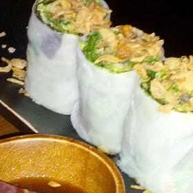 Papia Phak Sot (Spring Rolls) - May Kitchen + Bar, Vashon, WA