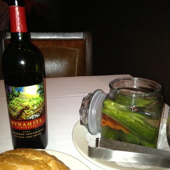 Pickles - Bob's Steak & Chop House - Dallas on Lamar, Dallas, TX