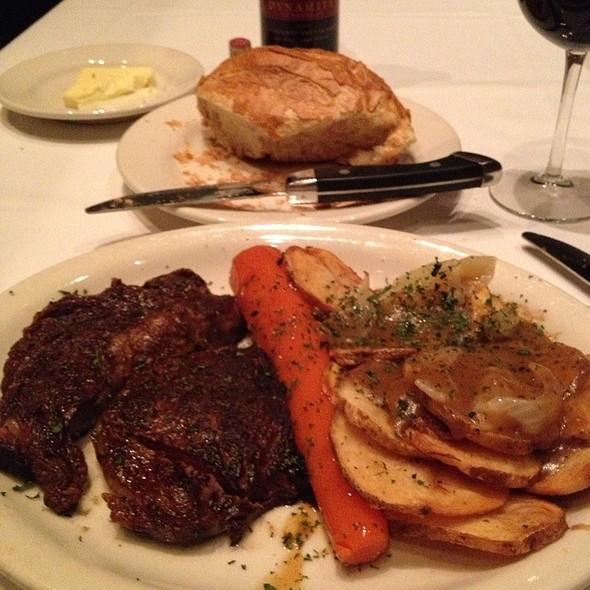 Ribeye Steak - Bob's Steak & Chop House - Dallas on Lamar, Dallas, TX