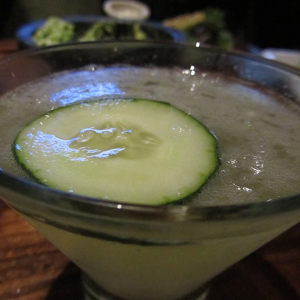 Cucumber Martini - Green Lemon, Tampa, FL