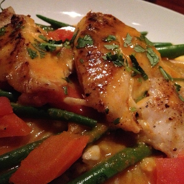 Grilled Line-Caught Snapper Curry - Seasons 52 - Palm Beach Gardens, Palm Beach Gardens, FL
