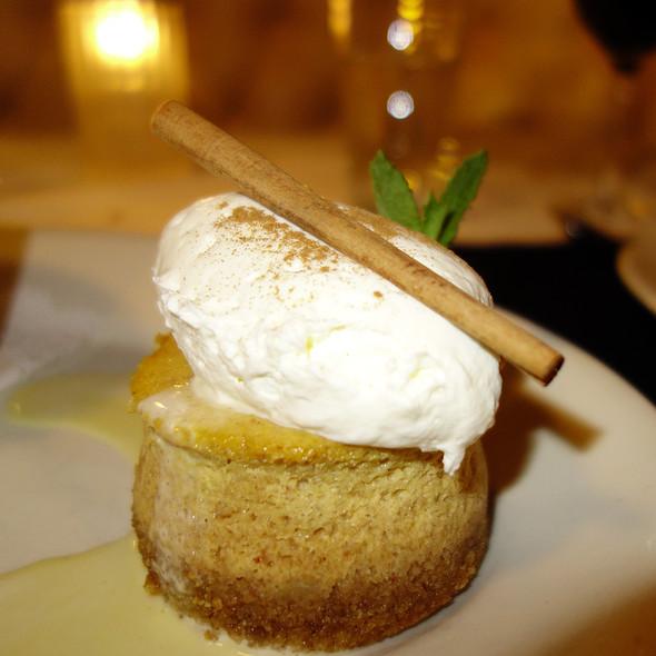 Pumpkin Cheesecake - Tavern on Rush, Chicago, IL