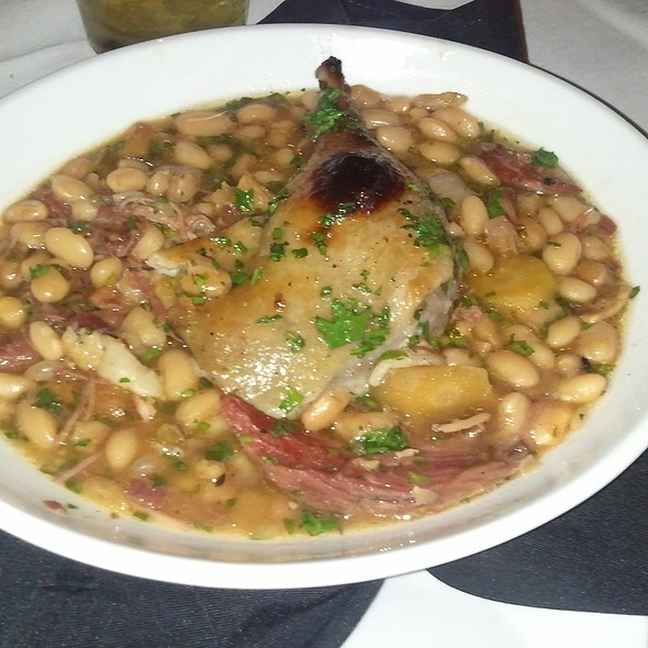 Sausage and Duck Cassoulet - The Flatiron Cafe, Omaha, NE