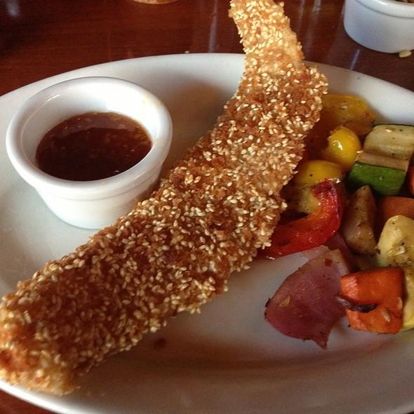Sesame Grouper - Spezia - Steaks, Italian & Seafood, Sioux Falls, SD