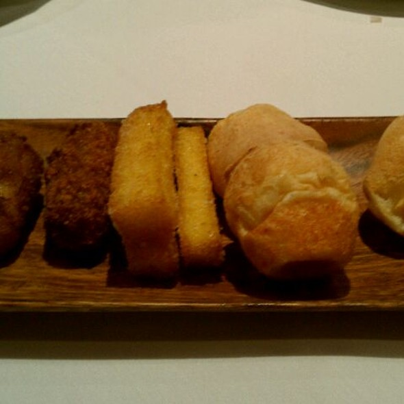 Fried Bananas, Fried Polenta & Cheese Puffs - Espetus Churrascaria - San Francisco, San Francisco