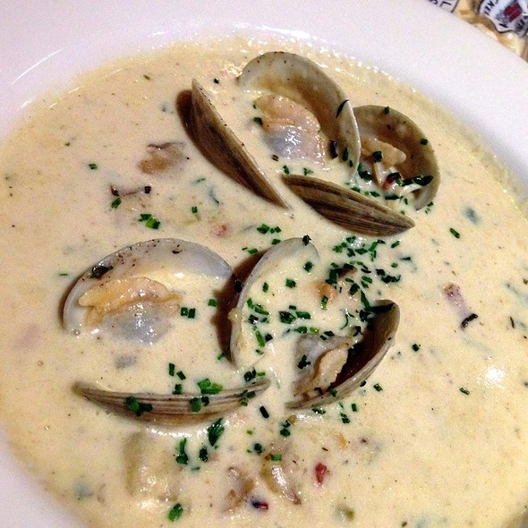New England Clam Chowder - Plume at the Jefferson Hotel, Washington, DC