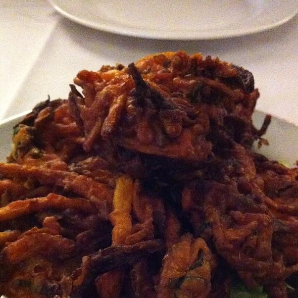 Onion Bhajia - Monsoon Indian Cuisine, Mount Laurel, NJ