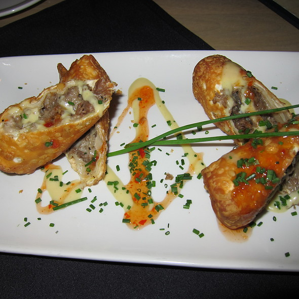 Steak and Cheese Eggrolls - Del Frisco's Grille - DC, Washington, DC