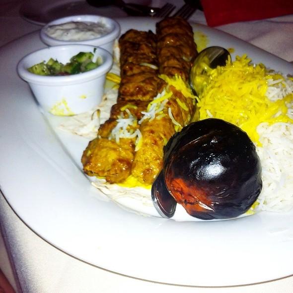 Koobideh Kabob Plate - Port Restaurant & Bar, Corona Del Mar, CA