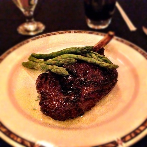 Bone-in Rib Eye - Silverado Steak House - South Point Casino, Las Vegas, NV