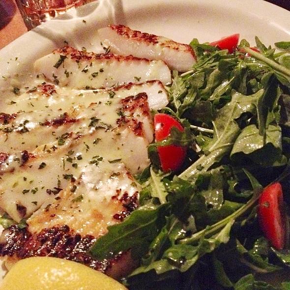 Grilled Calamari Steak - Colori Kitchen, Los Angeles, CA