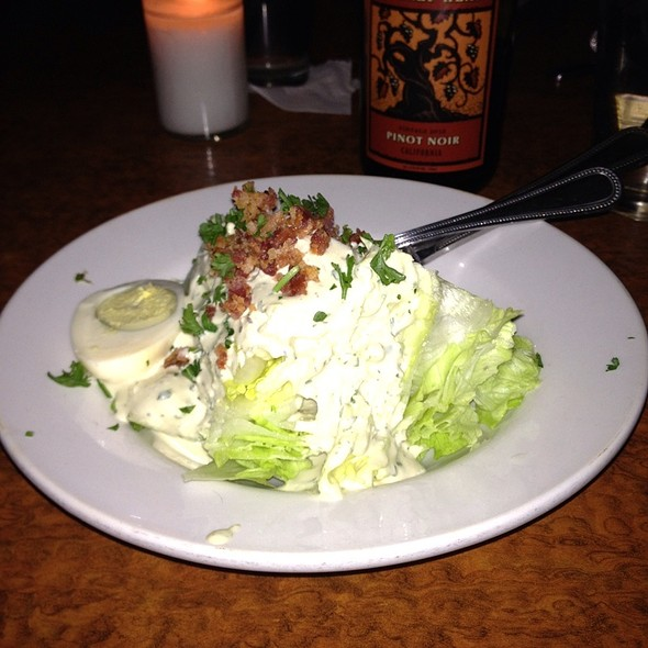 Blue Cheese Wedge Salad - Geogeske, El Paso, TX