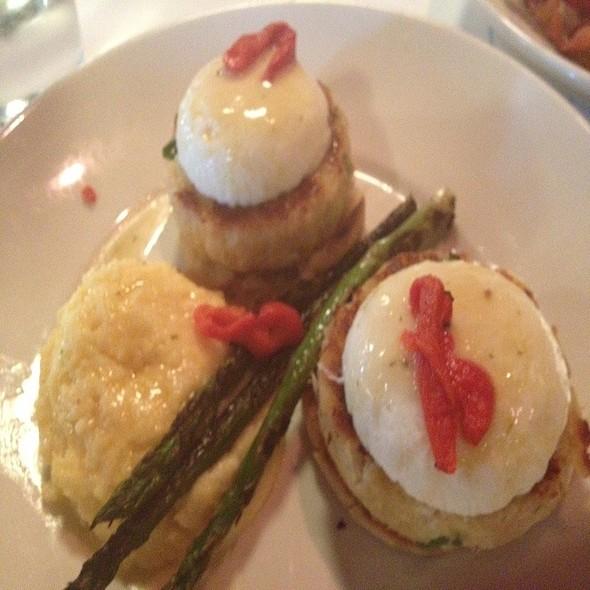 Crab Cakes Benidict  - Amerigo - Cool Springs, Brentwood, TN