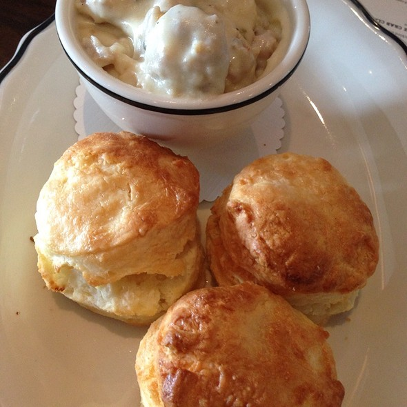 Biscuits and Gravy - Cask and Larder, Winter Park