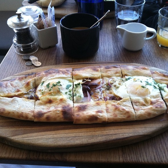 Wood Oven Flatbread - Momed - Beverly Hills, Beverly Hills, CA