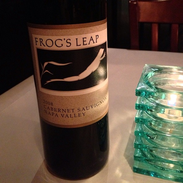 Frog's Leap Cabernet - La Galleria 33, Boston, MA