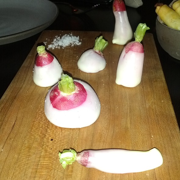 Radishes - The NoMad, New York, NY