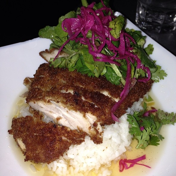 Panko-crusted lemon chicken - Myers + Chang, Boston, MA