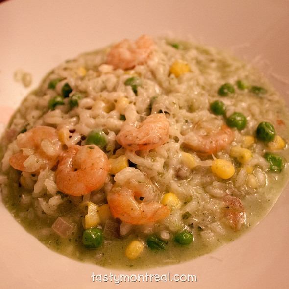 Shrimp Risotto - Madre, Montreal, QC
