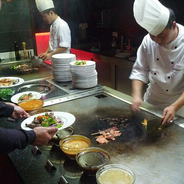 Live Cooking - Copper House, Hamburg