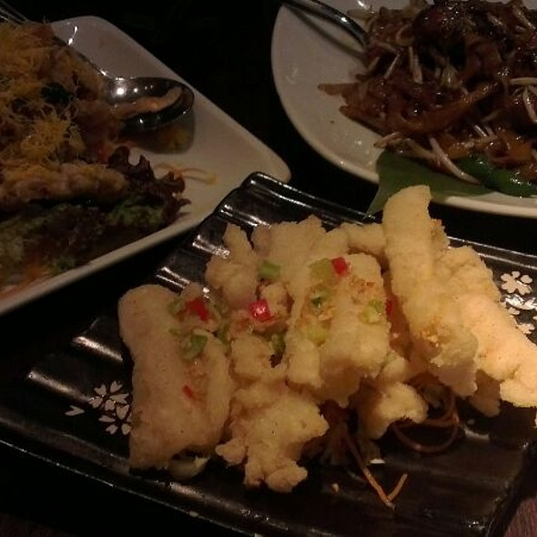 Chilli Pepper Squid - Plum Valley, London