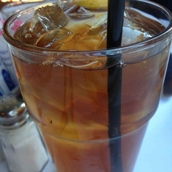 Iced tea - Coquette Cafe, Milwaukee, WI