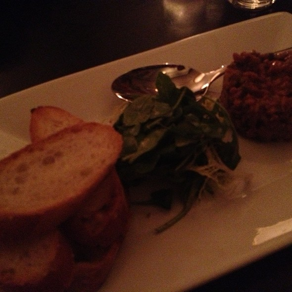 steak tartare - Blaue Gans, New York, NY