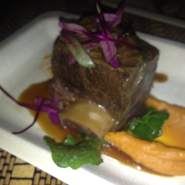 Braised Short Ribs With Sweet Potato - Firefly at the Dana Mission Bay, San Diego, CA