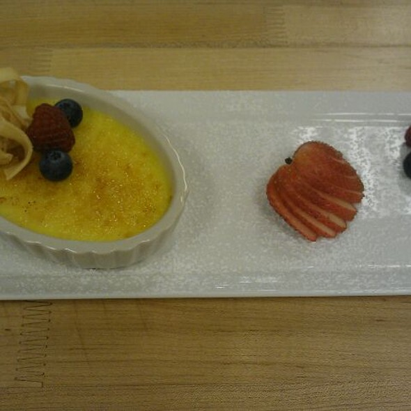 Lemon Creme Brulee - Waterleaf Restaurant - Glen Ellyn, Glen Ellyn, IL
