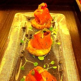 Smoked Salmon Bruschetta - Nellie Cashman's Monday Club Cafe at The Westin Kierland Resort & Spa, Scottsdale, AZ